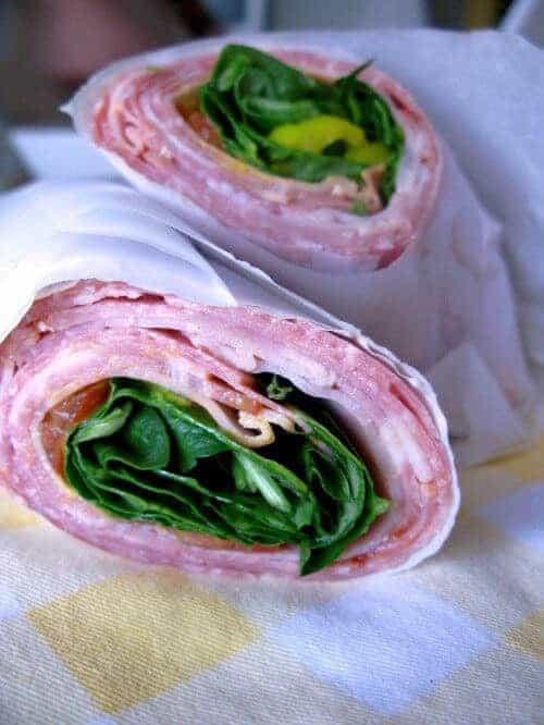Paleo Italian Sub Roll Up