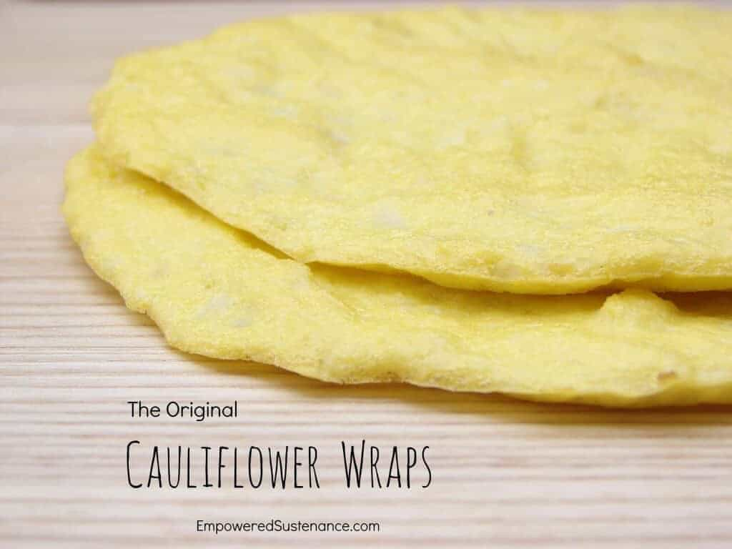 Cauliflower Wraps