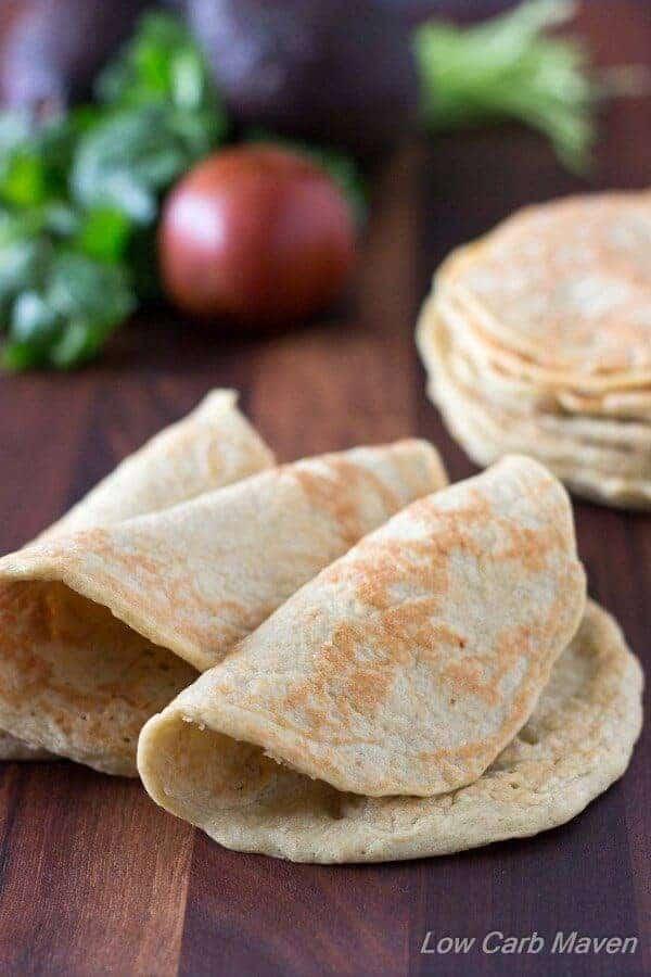 Gluten Free Keto Tortillas Recipe