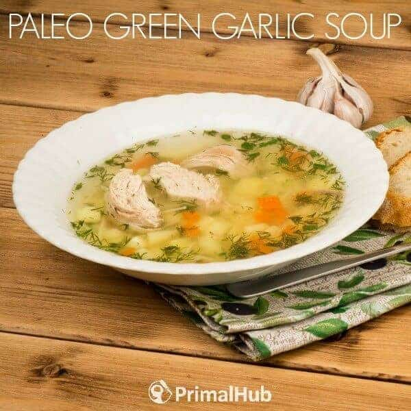Paleo Green Garlic Soup