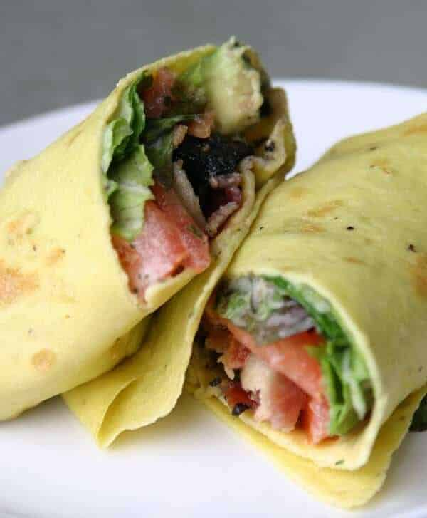 Paleo Breakfast Wraps Recipe