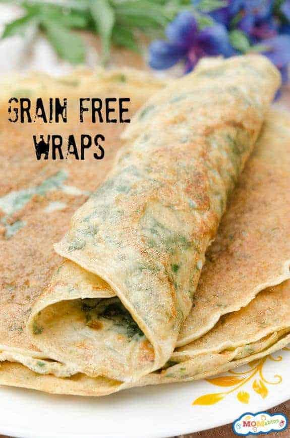 Grain-Free Lunch Box Wraps