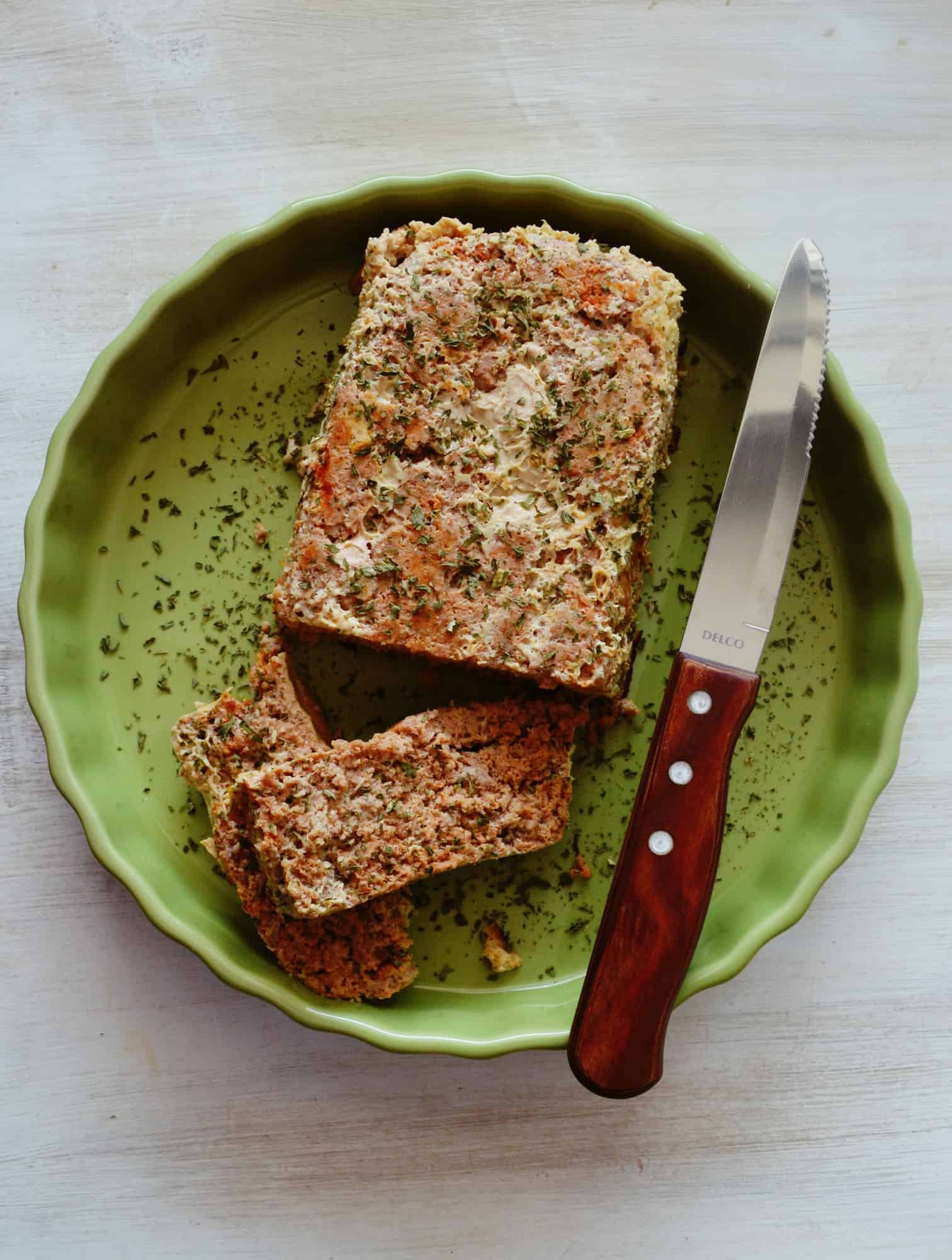 Delicious Low Carb Turkey Meatloaf Recipe.