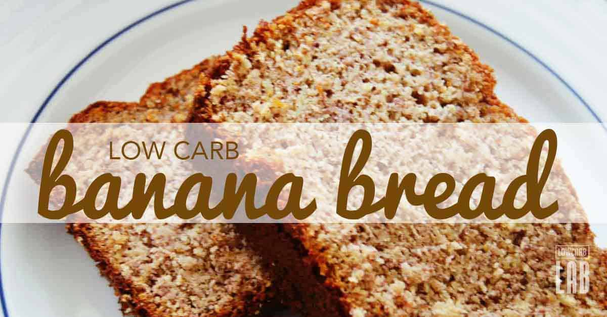easy low carb banana bread recipe