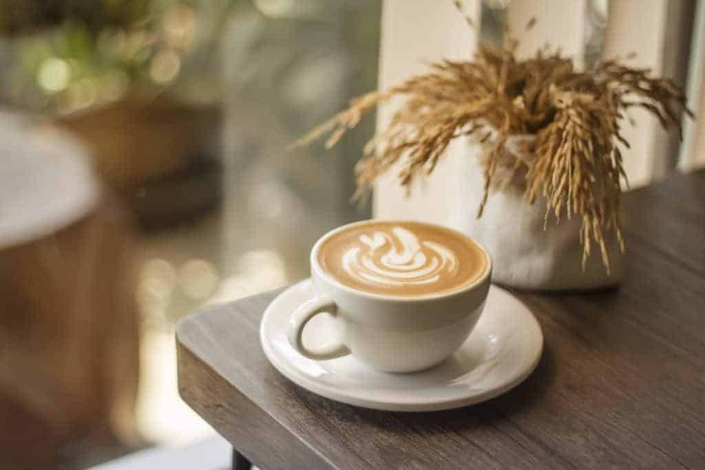 Premium coffee latte home delivery